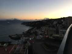 Capri and the Posillipo at Sunset